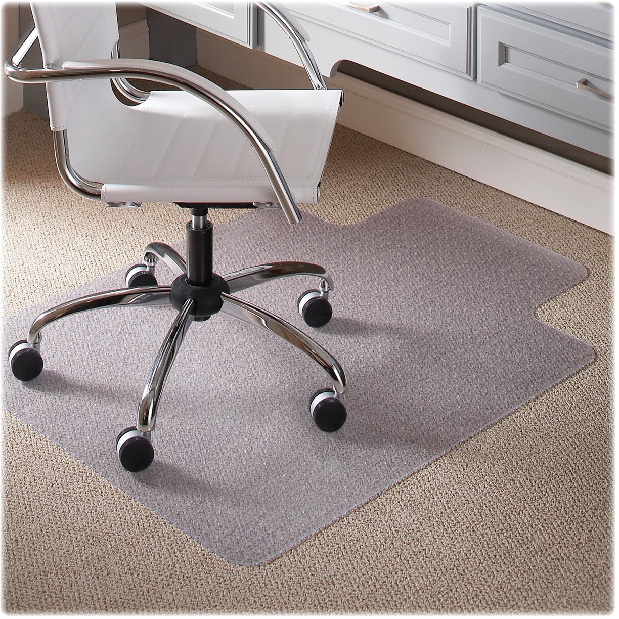 Es Robbins Chair Mat Es Robbins Everlife 36 X 48 Chair Mat For Low Pile Carpet Rectangular With Lip
