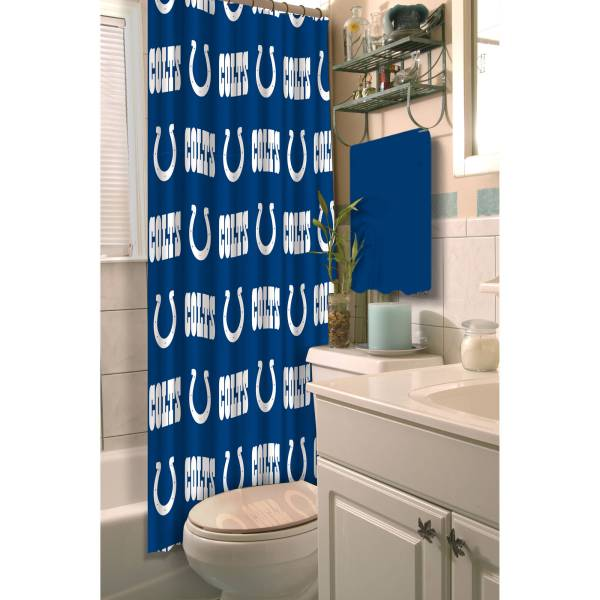 Nfl Indianapolis Colts Shower Curtain 1