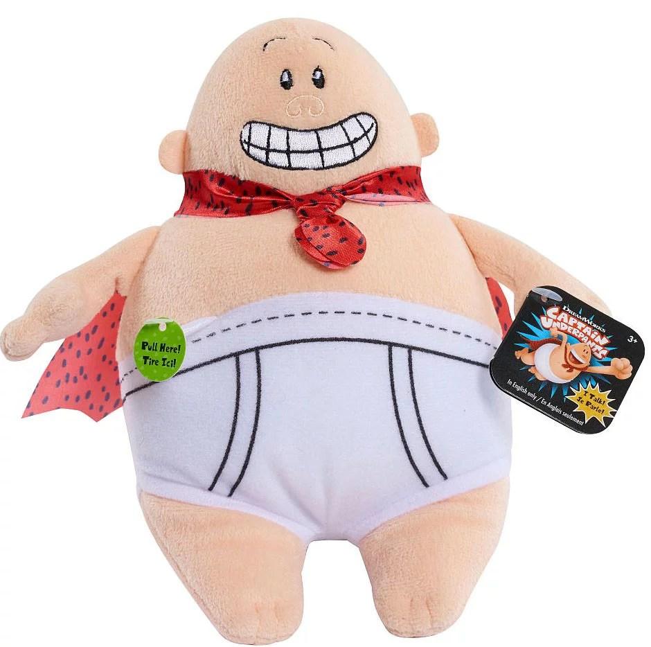 Captain Underpants Talking Plush Walmart