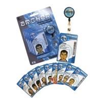 Archer Retractable Badge Holder and ID Card Set - Walmart.com
