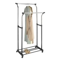 Mainstays Double Adjustable Garment Rack - Walmart.com