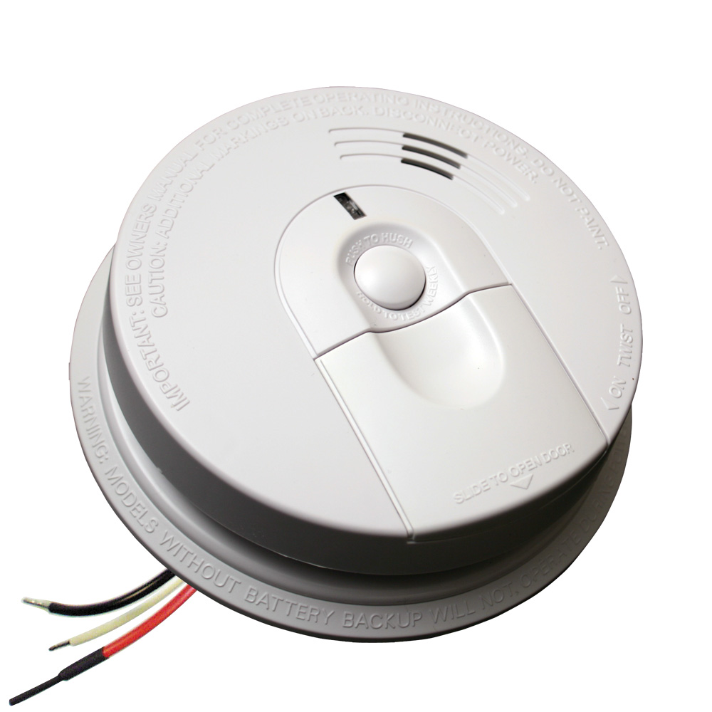 Hardwired Ionization Smoke Alarm With Battery Backup Manual Guide