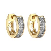 Diamond Hoop Earrings For Men
