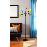 Your Zone 5-light Floor Lamp - Walmart.com