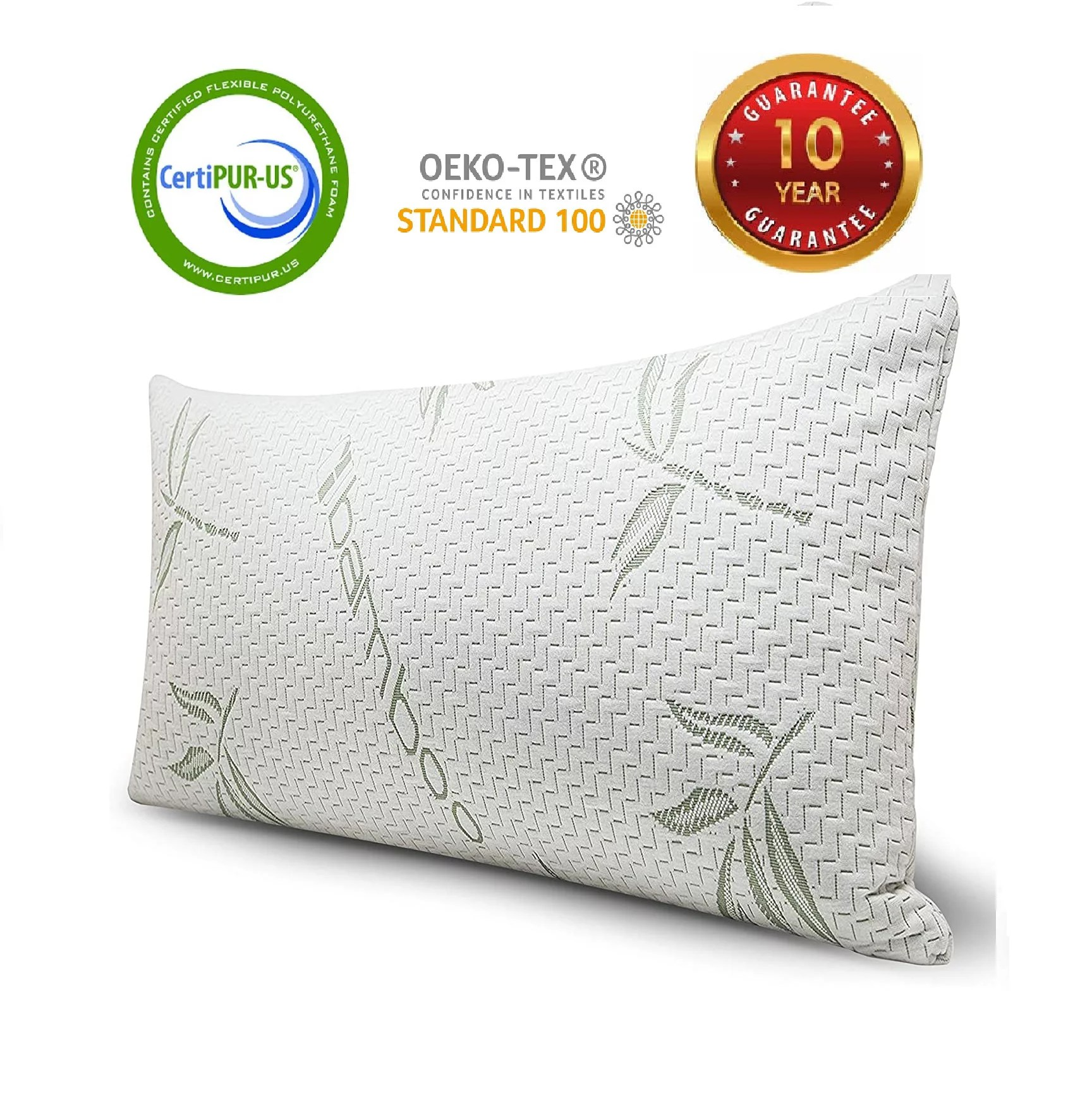 coop home goods toddler pillow 14x19 hypoallergenic cross cut memory foam soft touch lulltra washable cover from bamboo derived rayon