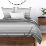 Ombre Paint Chip Grey Neutral Greyscale Sateen Duvet Cover By Roostery Walmart Com Walmart Com