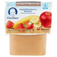 UPC 015000076092 - Gerber Apple Strawberry Banana Baby ...
