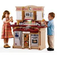 Step2 Party Time Kitchen Play Set & Play Food Value Bundle ...