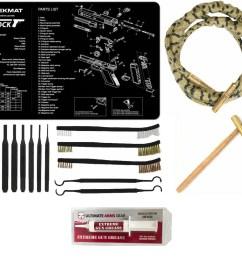 otis technology ripcord rip cord for 40 cal ultimate arms gear gunsmith cleaning gun mat glock pistol 8 pc punch takedown tool set kit 8 hammer  [ 1600 x 1443 Pixel ]
