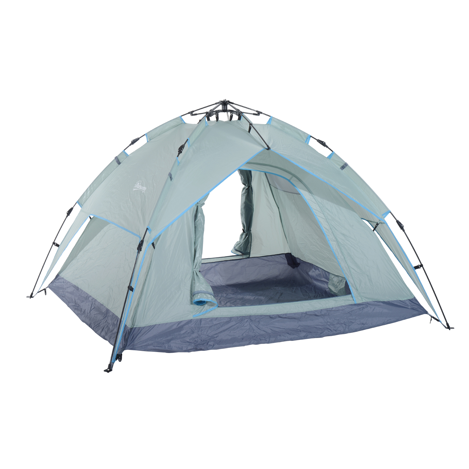 Outsunny 7' X 6' 2person Instant Tent With Rainfly