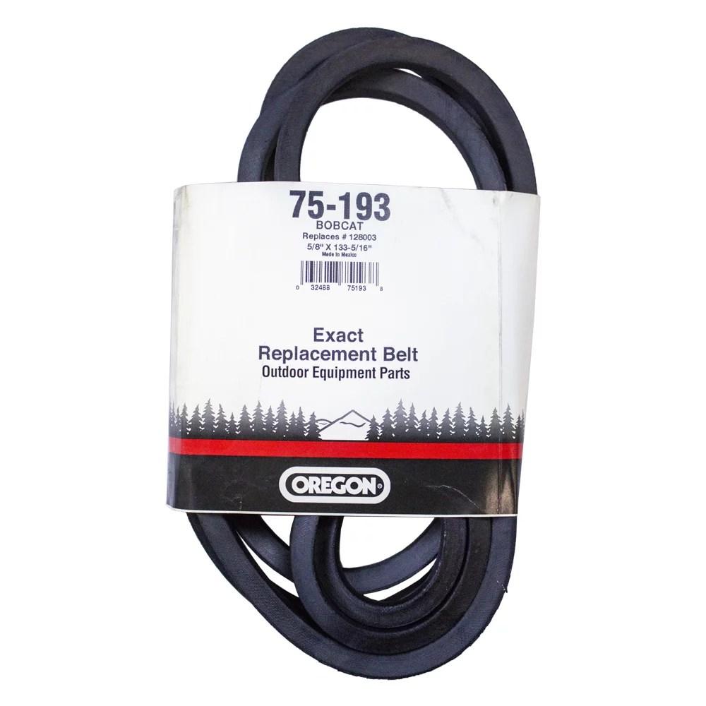 medium resolution of oregon mower deck belt 133 5 16 bobcat 61 ztr 442237 642211a 642212a 128003 walmart com