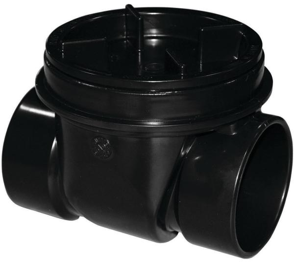 Oatey 43905 Backwater Valve Abs Black