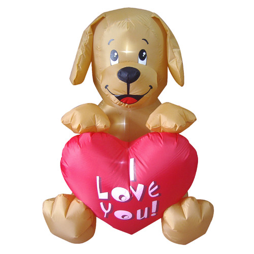 BZB Goods Valentines Day Inflatable Puppy Party