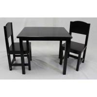 eHemco Kids 3 Piece Table and Chair Set - Walmart.com