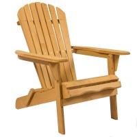 Best Choice Products Outdoor Adirondack Wood Chair ...