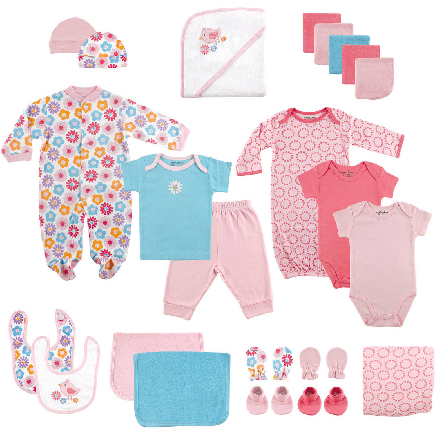 Luvable Friends Newborn Baby Boys And Girls Deluxe Gift