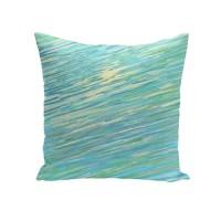 e by design Abstract Coastal Decorative Outdoor Pillow ...