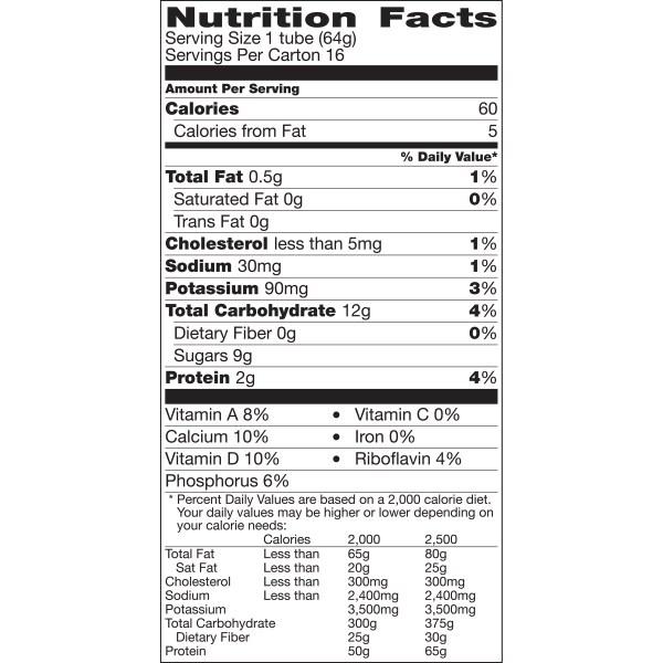 Yoplait Strawberry Banana Yogurt Nutrition Facts Besto Blog