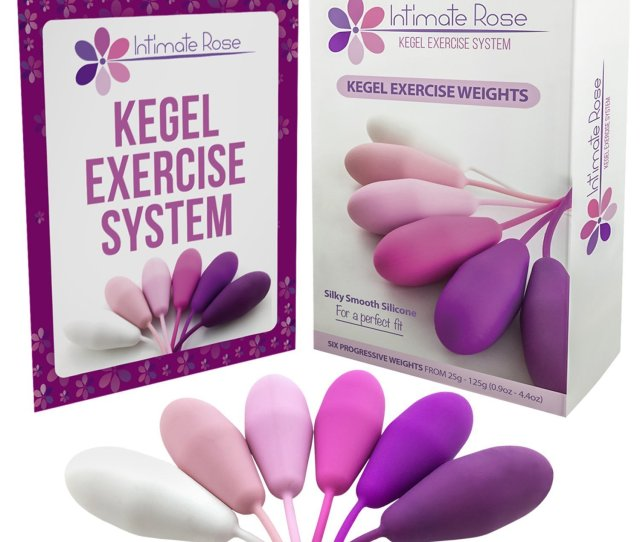 Intimate Rose Kegel Exercise Weights Doctor Recommended For Bladder Control Pelvic Floor Exercises