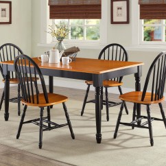 Black Farmhouse Chairs Dining Room Chair Covers Argos Better Homes And Gardens Autumn Lane