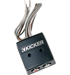 kicker line out converter kisloc 2 channel k series speaker wire to rca line out converter loc walmart com [ 2000 x 2000 Pixel ]