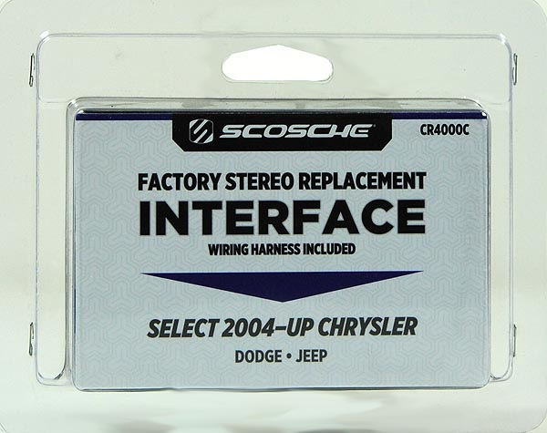 scosche cr4000sw  2004up select chrysler dodge  jeep interface