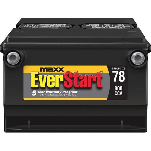 also everstart maxx lead acid automotive battery group  walmart rh