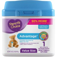 Parent's Choice Advantage Powdered Formula with Iron, 35 ...