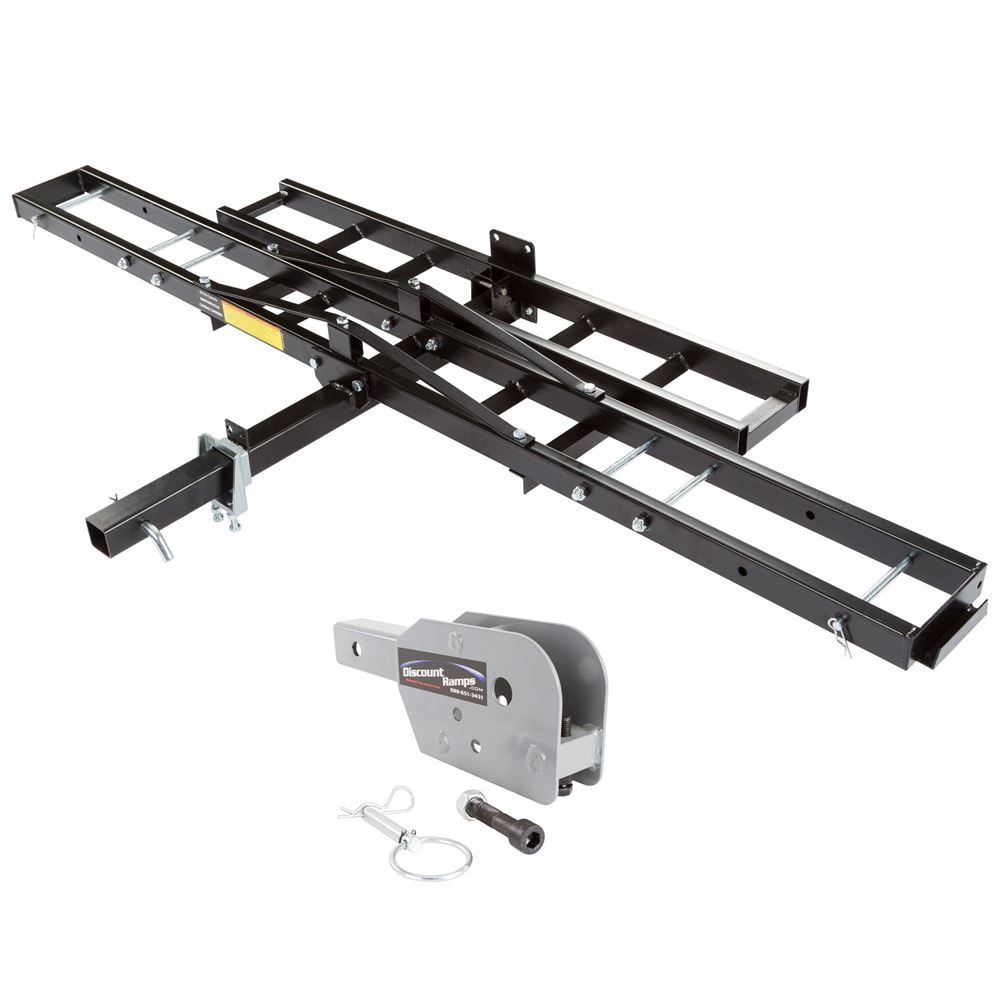 black widow mcc 500 f folding steel hitch carrier for dirt bikes walmart com
