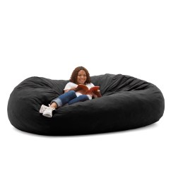 What Size Bean Bag Chair Do I Need Wedding Chairs Hire Sydney Big Joe Xxl 7 Fuf Multiple Colors Fabrics Walmart Com