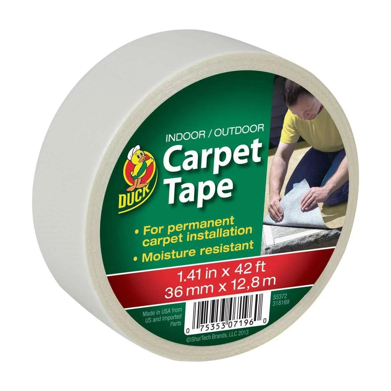 Duck Brand Indoor / Outdoor Carpet Tape, 42'
