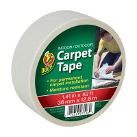 Duck Brand Indoor / Outdoor Carpet Tape, 42'