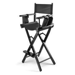 Makeup Chairs For Professional Artists Outdoor Garden Chair Covers Artist Directors Actor Wood Stool Light Weight Bar Height Seat Foldable With Storage