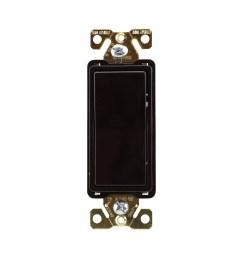cooper wiring devices 7624b box 4 way switch w ground 20a brown walmart com [ 2000 x 2000 Pixel ]