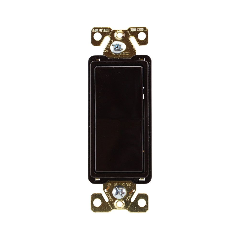 medium resolution of cooper wiring devices 7624b box 4 way switch w ground 20a brown walmart com