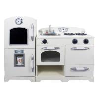 2-Pc Eco-friendly Play Kitchen Set in White - Walmart.com