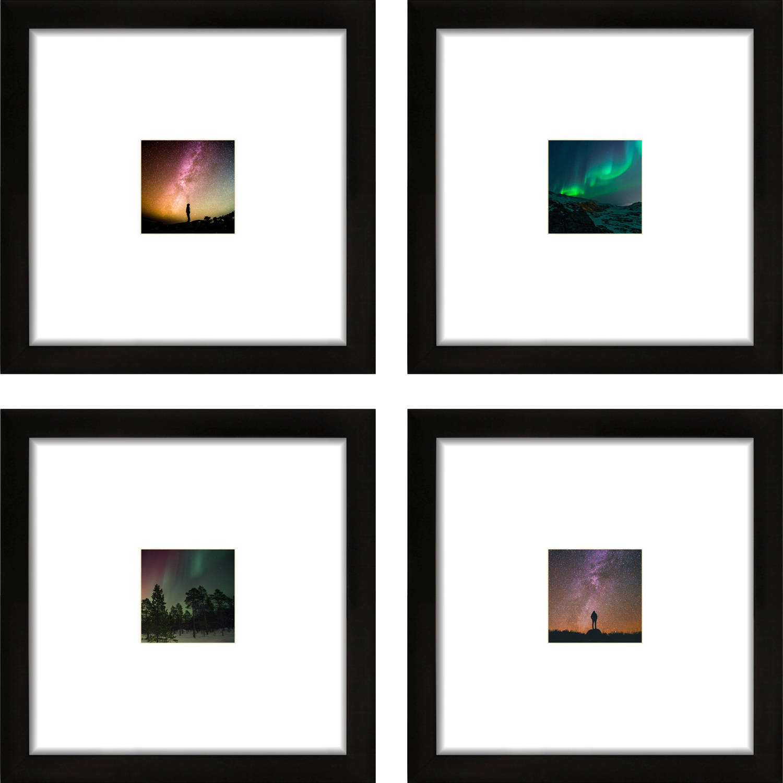 craig frames 12x12 black