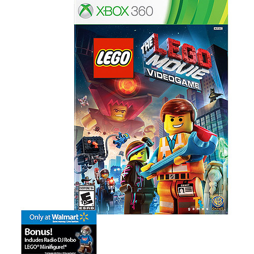 The Lego Movie Videogame Walmart Exclusive Xbox 360