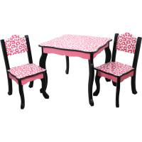 Teamson Kids Leopard Table and Chair Set - Walmart.com