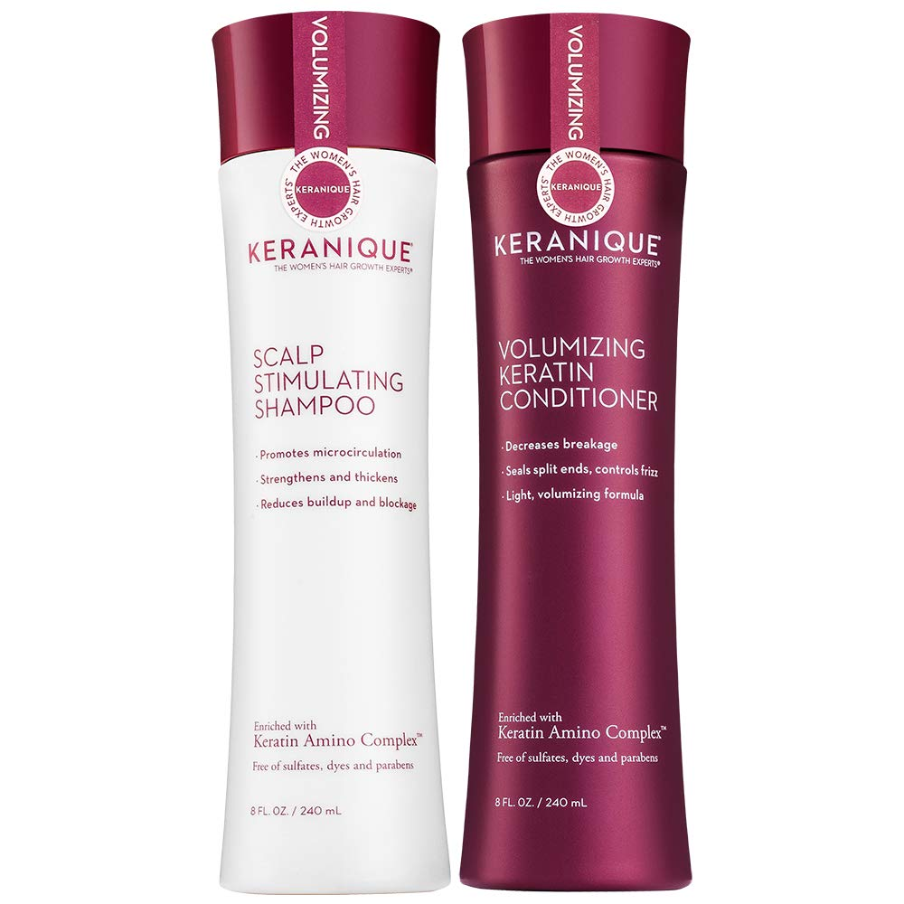 Keranique - Keranique Shampoo and Conditioner Set for Hair ...