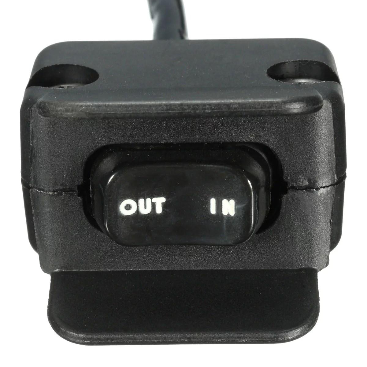hight resolution of 12v 250a atv utv solenoid relay contactor winch rocker thumb switch wiring combo walmart