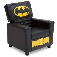 Batman Childrens Table And Chairs Heated Office Chair Pad Dc Comics Youth High Back Upholstered By Delta Children Walmart Com