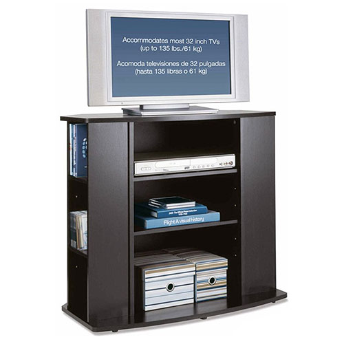 Mainstays Tall Tv Stand  Walmartcom