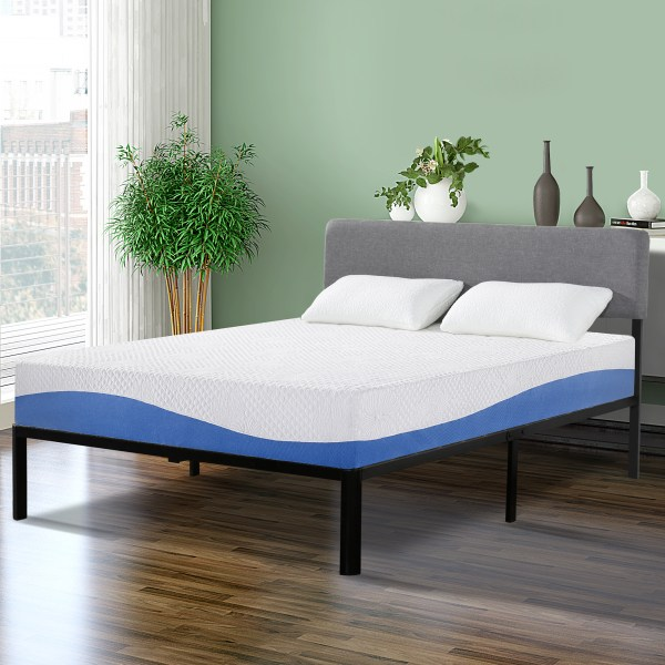 Sleeplace 10 Aquarius Memory Foam Mattress Twin 10fm01t