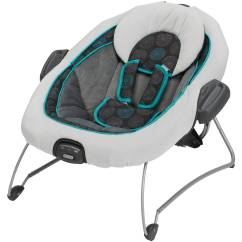 Baby Swing Vibrating Chair Combo Camping Table Chairs Graco Duetconnect And Bouncer Bristol Walmart Com