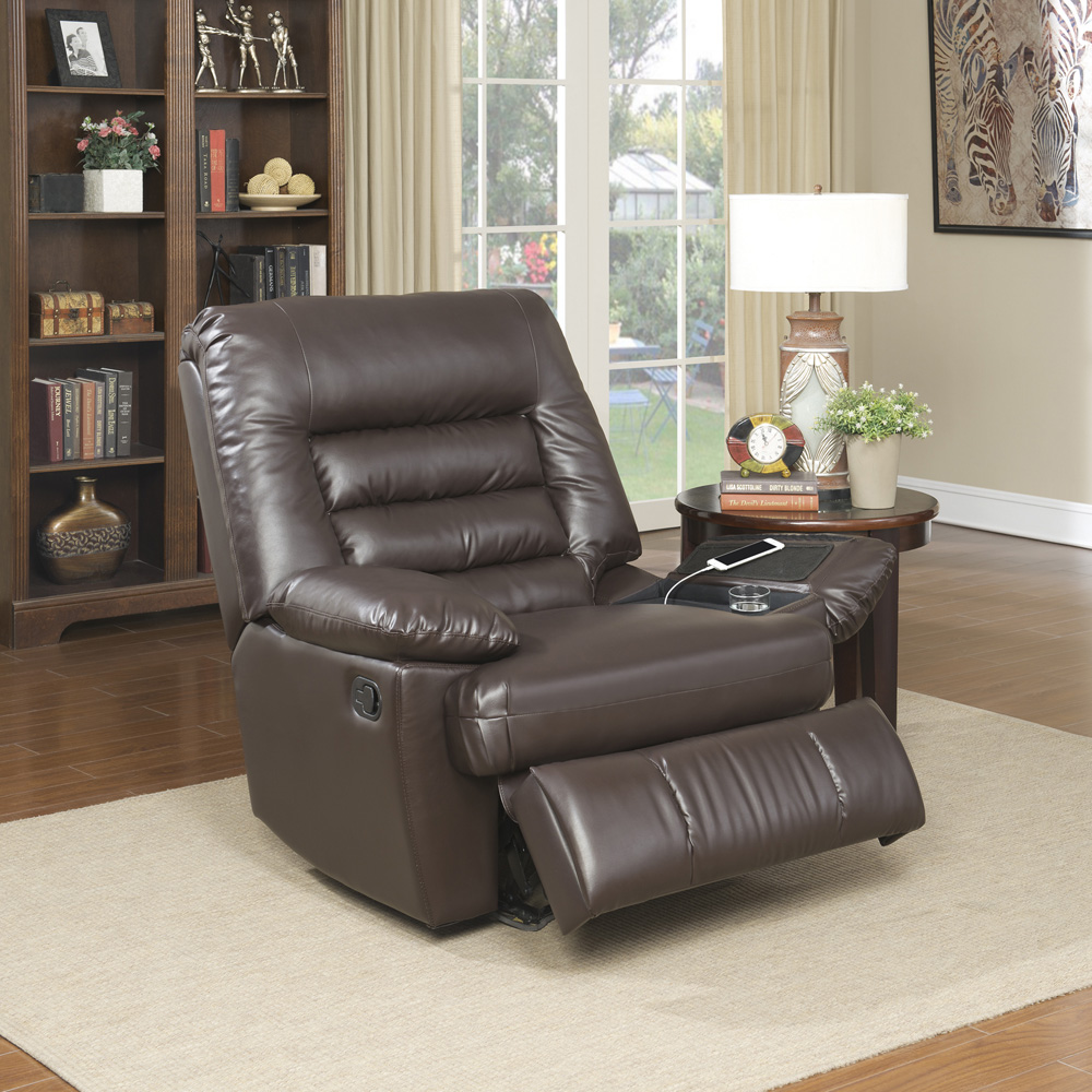 big and tall living room furniture hemnes dresser in serta memory foam massage recliner multiple colors faux leather walmart com