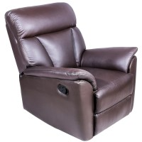 Harper&Bright Designs Recliner Sofa Chair PU Leather ...