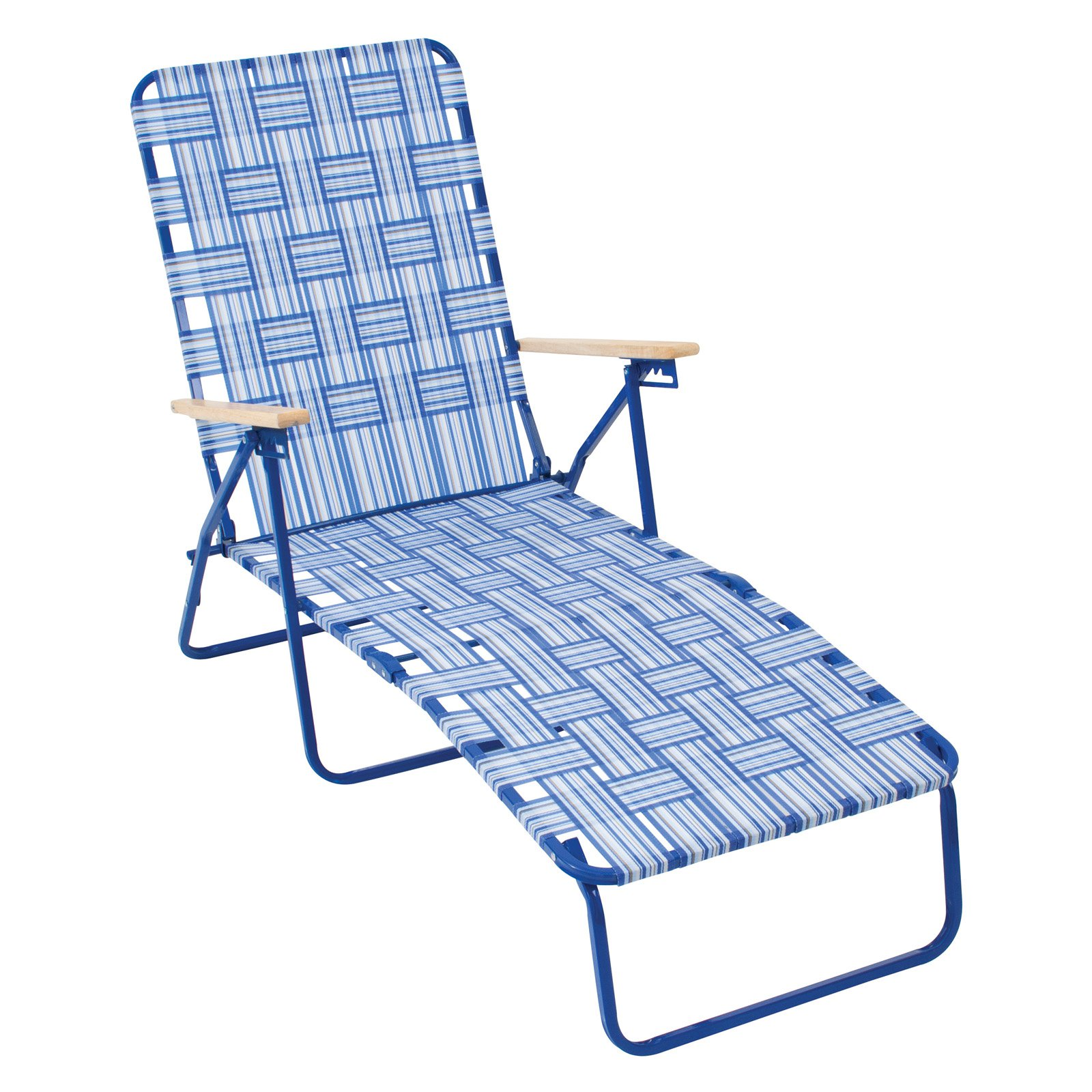 Folding Lounge Chair Rio Brands Rio Deluxe Folding Web Chaise Lounge Chair