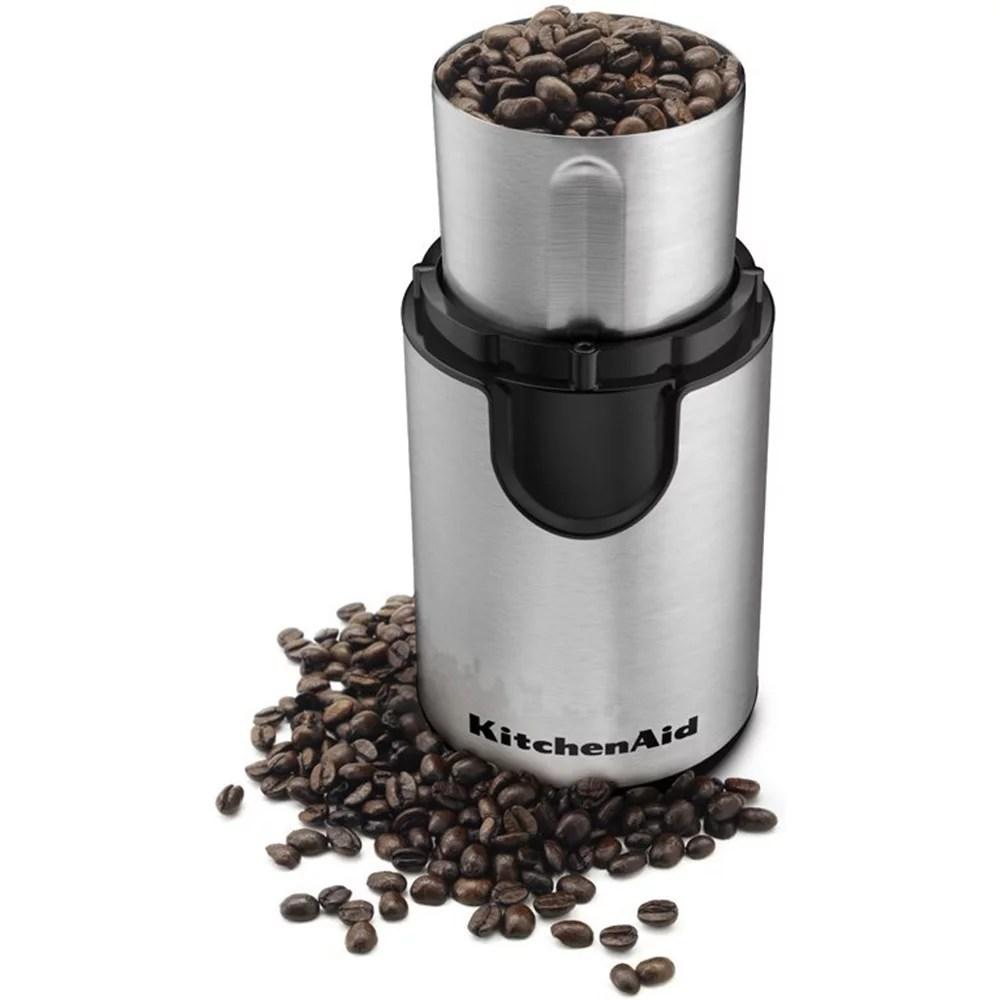 kitchen aid grinder mittens kitchenaid blade coffee onyx black bcg111ob walmart com