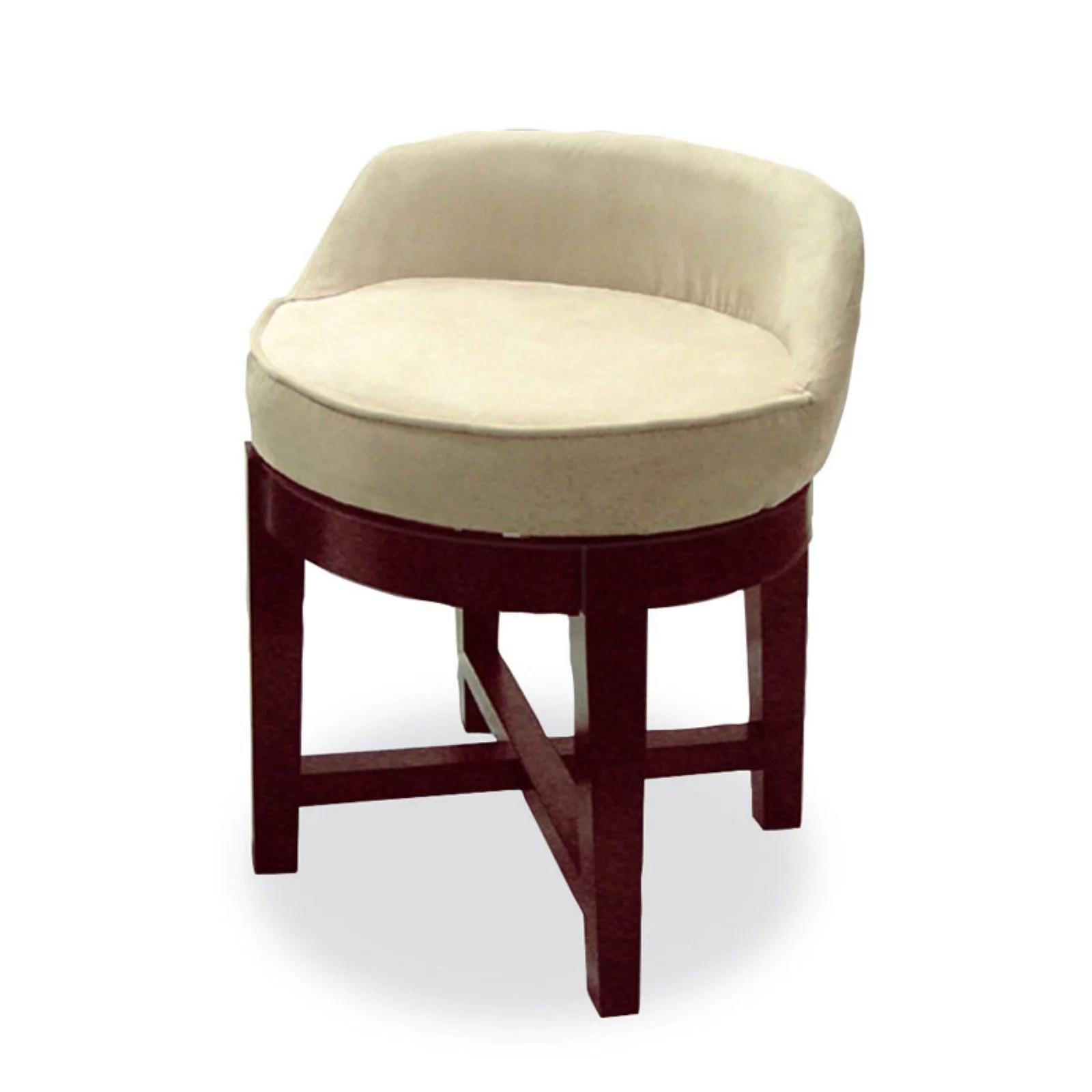 swivel upholstered chairs chair steel legs vanity walmart com